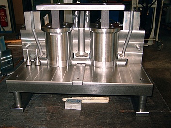 Kokille für Aluminiumgiesserei